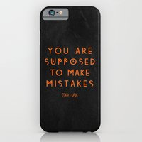 iPhone & iPod Case featuring That's Life. by Typexperiments