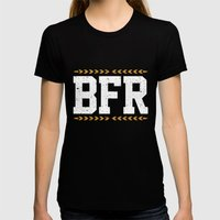 BFR Womens Fitted Tee Black SMALL