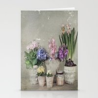 longing for springtime Stationery Cards