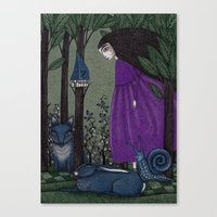 There Is A Place In The … Canvas Print