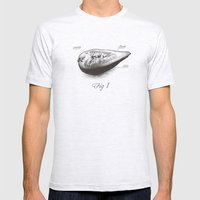 Fig 1 Mens Fitted Tee Ash Grey SMALL