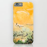 iPhone & iPod Case featuring Yellow Slide by Camilo Nascimento