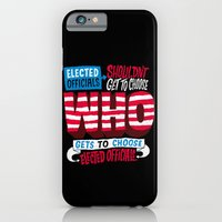 iPhone & iPod Case featuring Voter Suppression by Chris Piascik