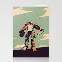 famous car monster Stationery Cards
