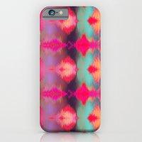Watercolor Ikat iPhone 6 Slim Case