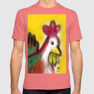 Thanksgiving Revenge Tur… Mens Fitted Tee Pomegranate SMALL