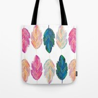 feather fully Tote Bag