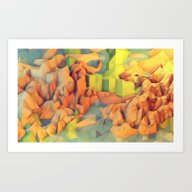 Vacation Island Art Print