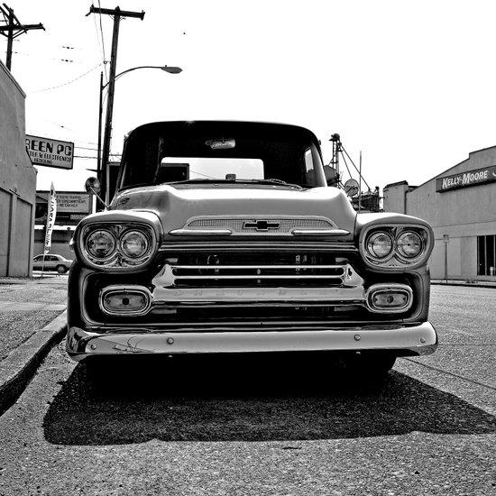 Grit City Chevrolet Art Print