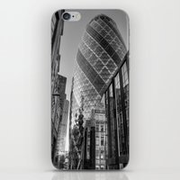 London Gherkin, London iPhone & iPod Skin