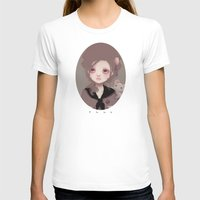 Emma (2011 version) Womens Fitted Tee White SMALL