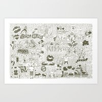 Love Stories Art Print