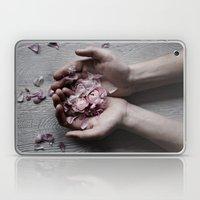 The wild flowers grows here Laptop & iPad Skin