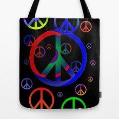 Peace time Tote Bag