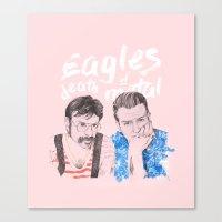Eagles of Death Metal Canvas Print