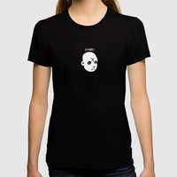 POINK Womens Fitted Tee Black SMALL