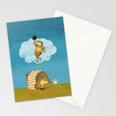 What bears dream of Stationery Cards