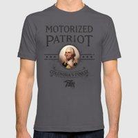 Bioshock Motorized Patriot Mens Fitted Tee Asphalt SMALL