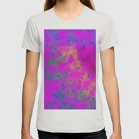 Cloudburst #1 Womens Fitted Tee Silver SMALL