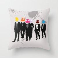 Reservoir Ghosts Throw Pillow