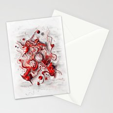 Red-Wild  Stationery Cards