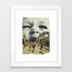 Young Hunger. Framed Art Print