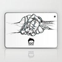 Handholding Laptop & iPad Skin