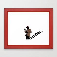 Doctor 11... Framed Art Print