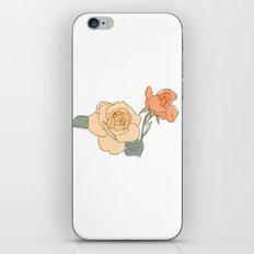 Handdrawn Roses iPhone & iPod Skin