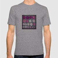 Rose Mens Fitted Tee Athletic Grey SMALL
