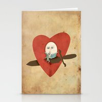 The Lover Stationery Cards