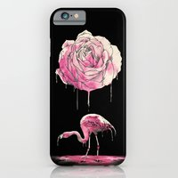iPhone & iPod Case featuring flamingo by Alan Maia