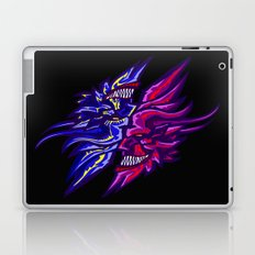 Twin Demons Intertwined Laptop & iPad Skin