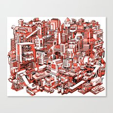 City Machine Canvas Print