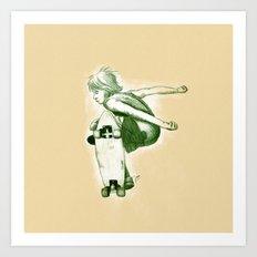 Rider II Art Print