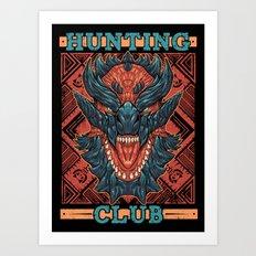 Hunting Club: Glavenus Art Print