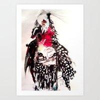 Bald Art Print