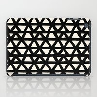 Brush Stroke Triangles G… iPad Case