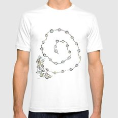 Dancing People Mens Fitted Tee White SMALL