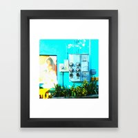 #KEY WEST POETRY By Jay … Framed Art Print