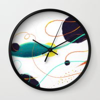 Fishing Hole Wall Clock