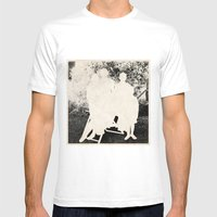 The Secret Family Mens Fitted Tee White SMALL