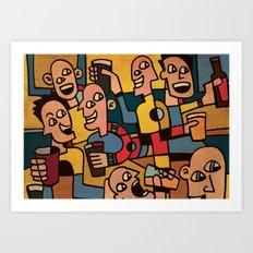Pub Art Print