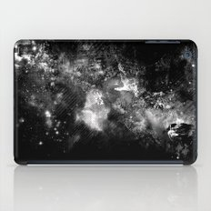 I'll wait for you black white version iPad Case