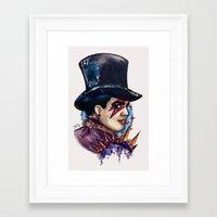 Glammer Framed Art Print