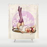 Miss Utah Shower Curtain