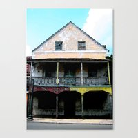 Abandon Building Canvas Print