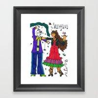 Spanish Dance Framed Art Print