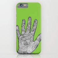 Handprint iPhone 6 Slim Case