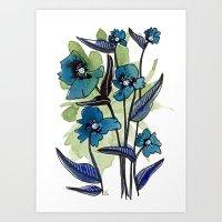 Floral 18 Art Print